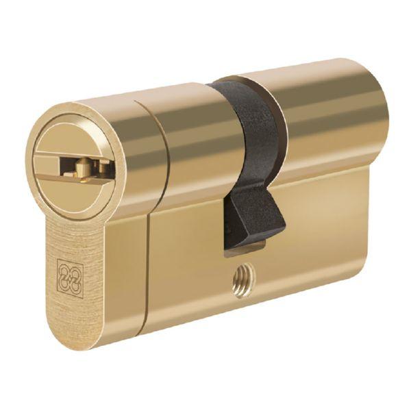 Cilindro de seguridad mod. MPRO. Latón. 31X50 mm.