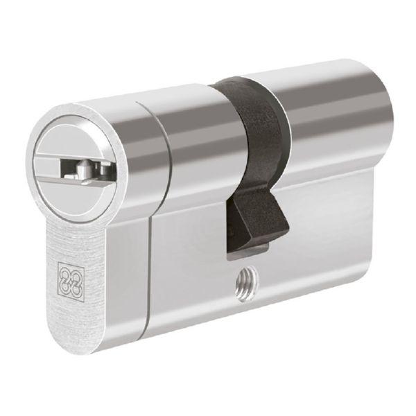 Cilindro de seguridad mod. MPRO Níquel. 35x35 mm.