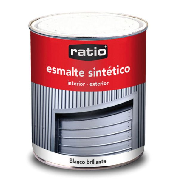 ESMALTE SINTETICO BRILLANTE 750 ML BLANCO